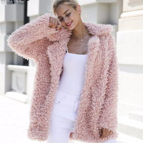 Teddy Bear Coats-Winter Must-Have